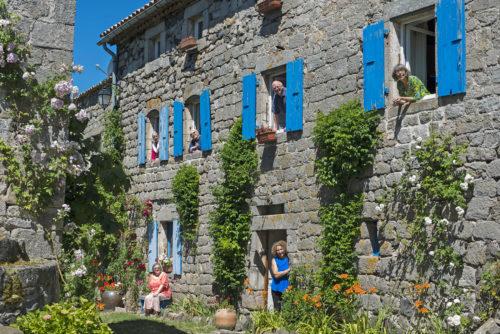 Patrimoine bâti, villages de caractères en Centre Ardèche