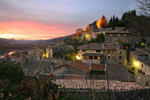 Architectural heritage and charming villages in central Ardèche