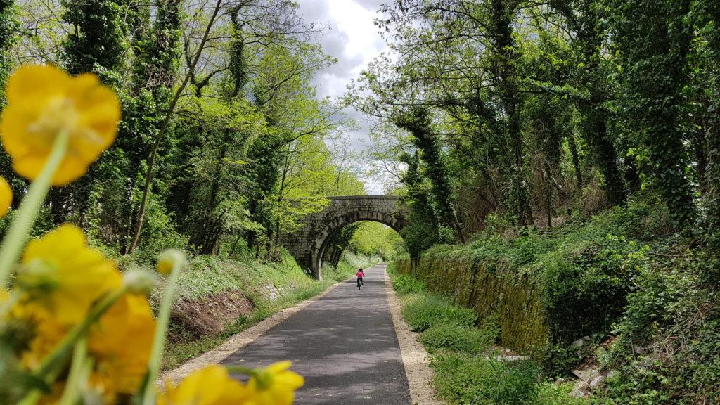 Voie douce de la Payre, vacances à vélo en Ardèche Buissonnière
