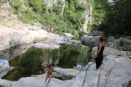 Baignade - La Glueyre - Ardèche