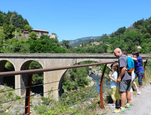 Voie douce de la Dolce Via - Les Ollières sur Eyrieux-  Ardèche - Vallée de l'Eyrieux