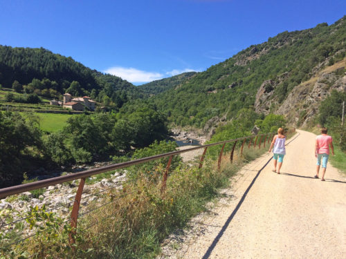 A day's cycling along the Dolce Via