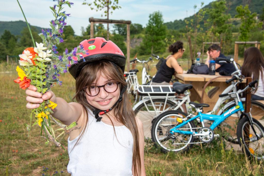En Ardèche, à vélo, on s'éloigne des autos