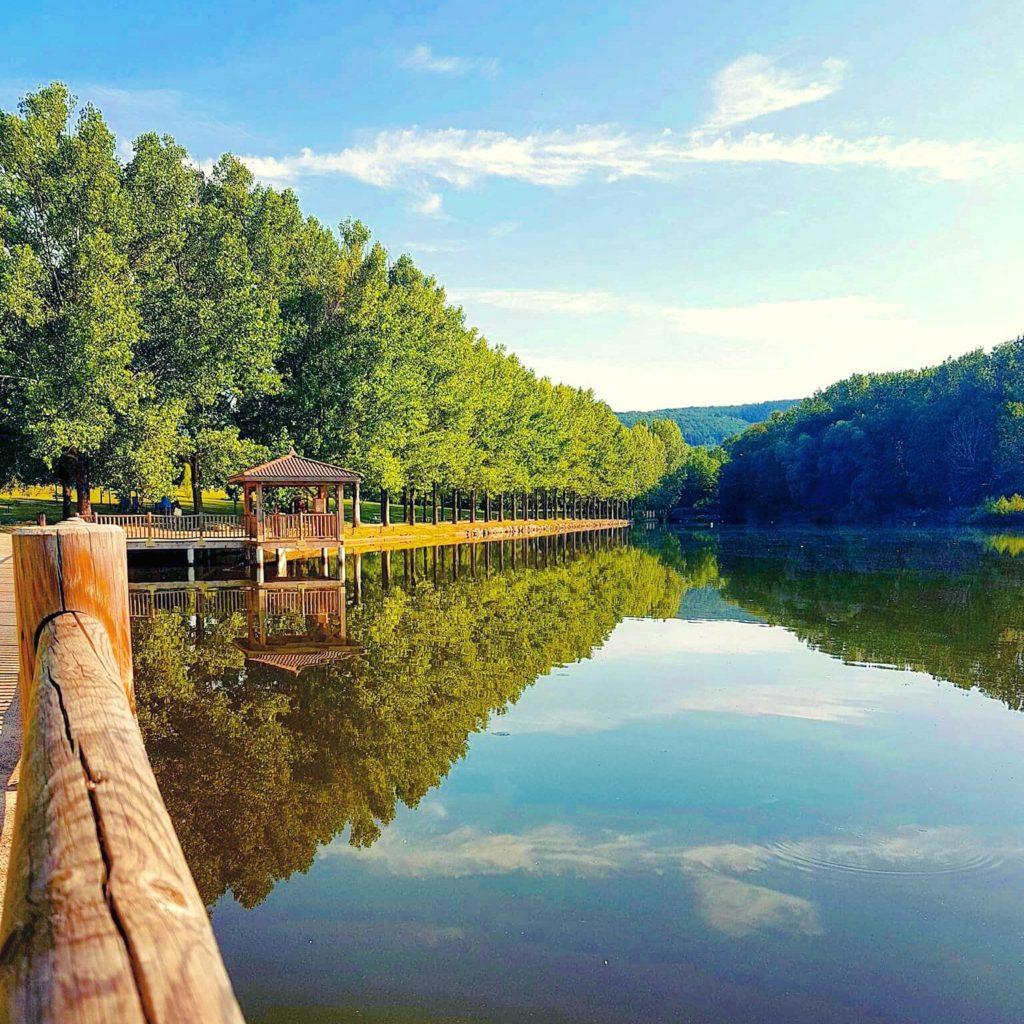 Lac au Ramier, Vernoux en vivarais, Ardèche tourisme, vacances