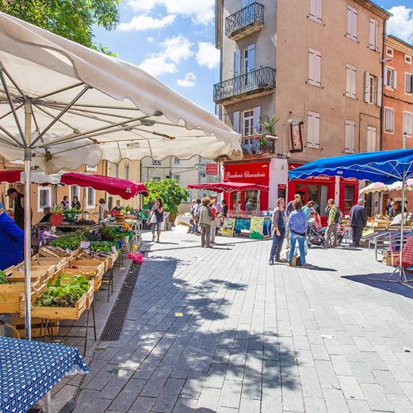 Marchés en Ardèche - faites le marché en Ardèche Buissonnière