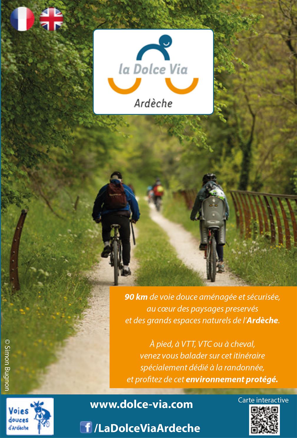Dolce via cycle path brochure