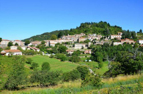 Le village de caractère de Chalencon, plus beau village d'Ardèche