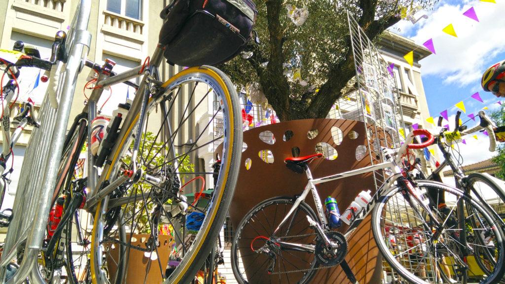 Ardéchoise cycle race, the Eyrieux valley marathon, the Castagnades...