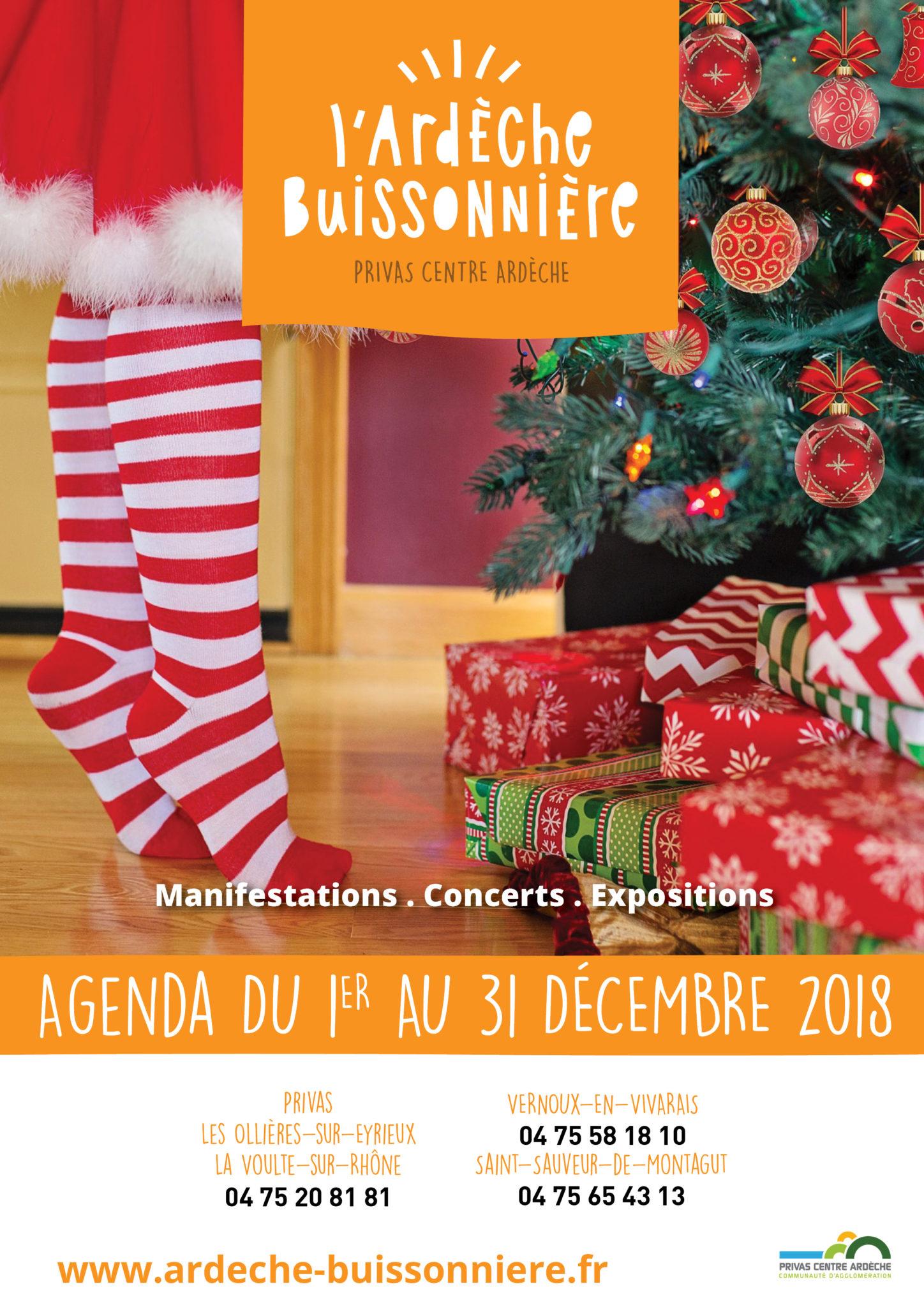 December 2018 events agenda - Ardèche Buissonnière