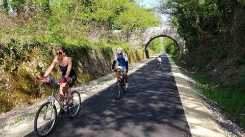 Het fietspad van La Payre