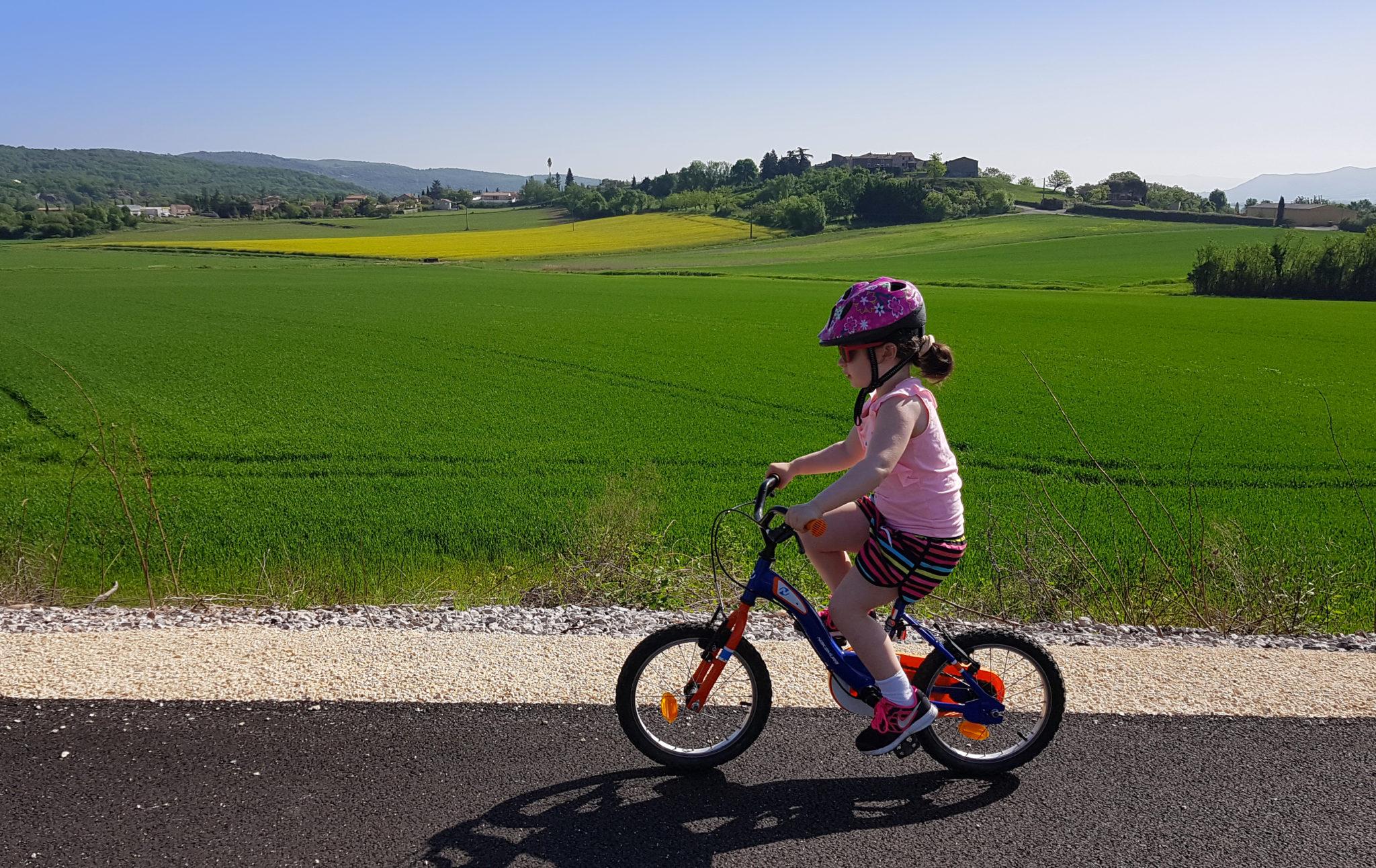 En bicyclette !