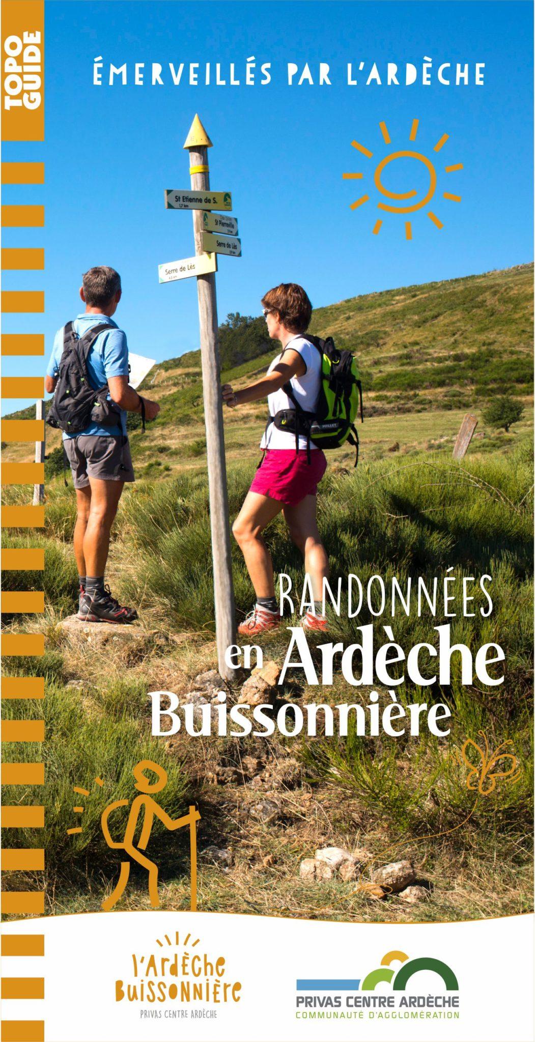 Topoguide des randonnées en Ardèche Buissonnière