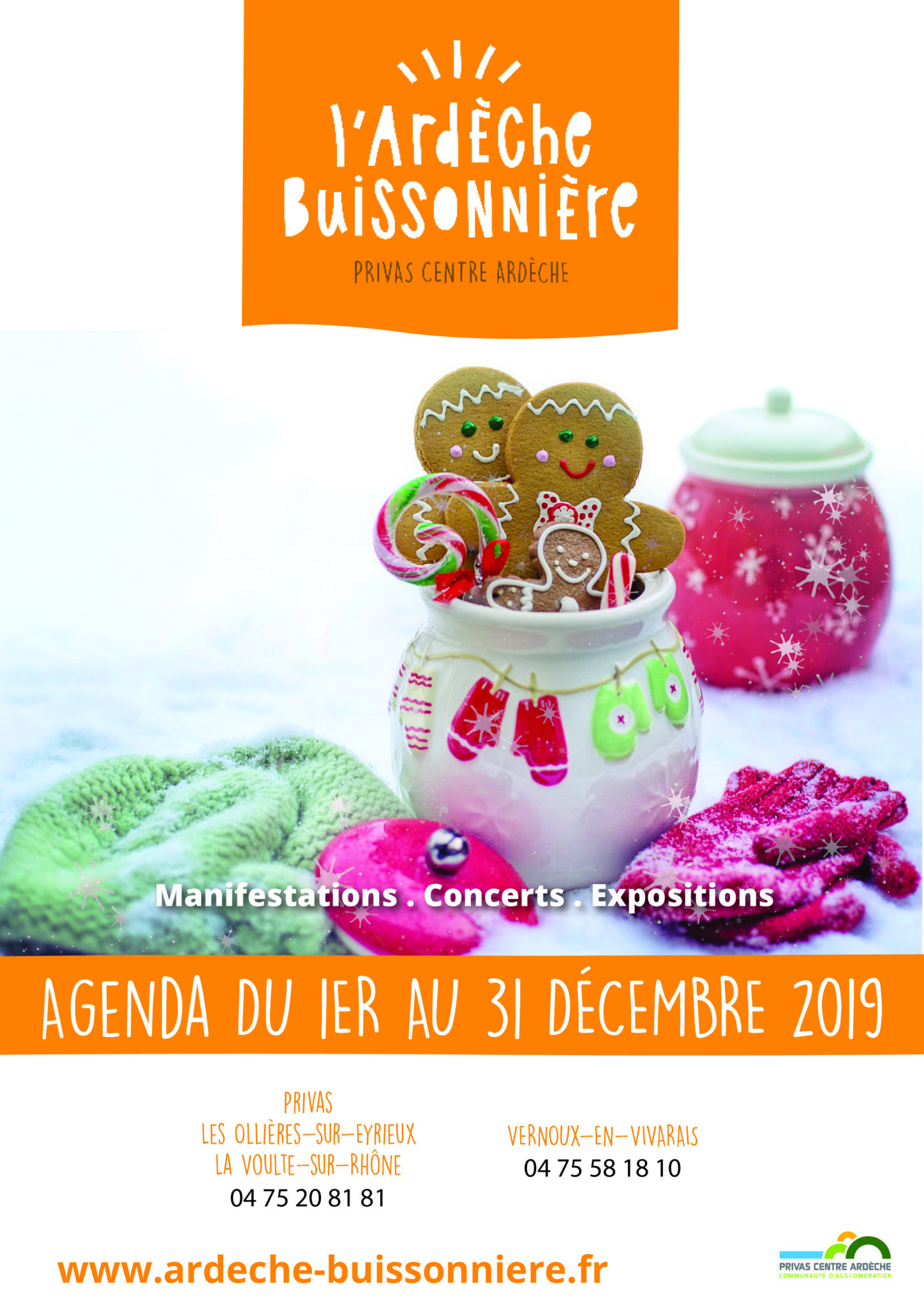 December 2019 events agenda - Ardèche Buissonnière