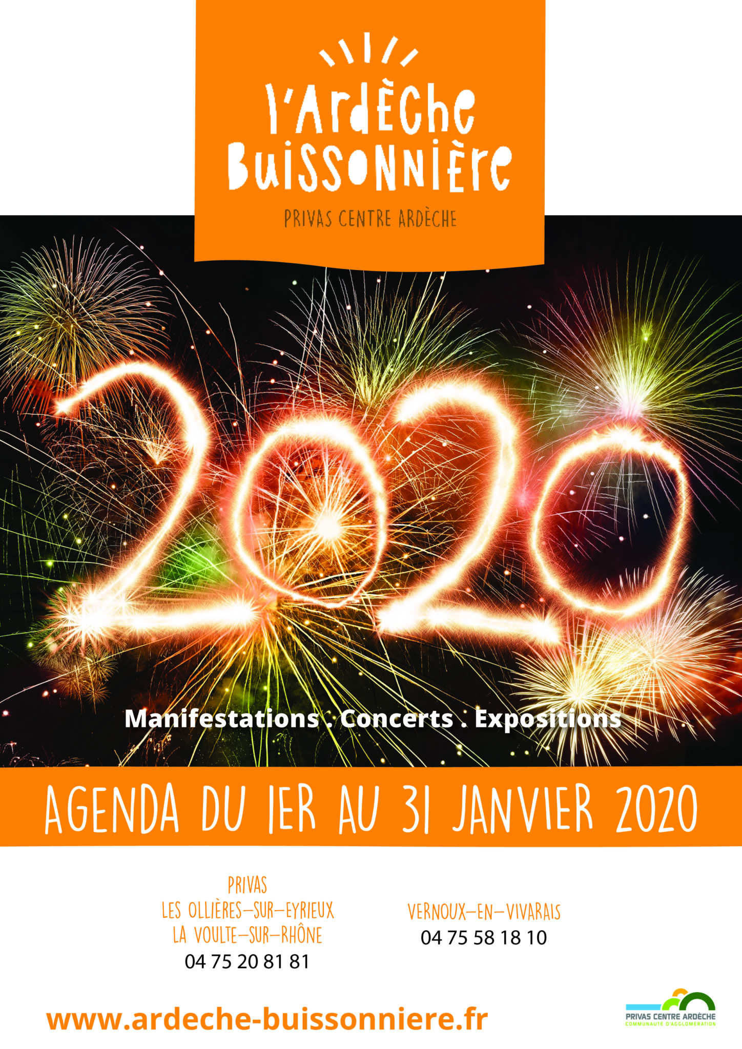 January 2020 events agenda - Ardèche Buissonnière