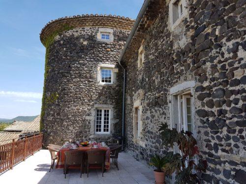 château de Mauras, Chomérac, Ardèche Buissonnière