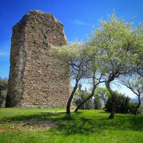 La tour du village Beauchastel, Ardèche