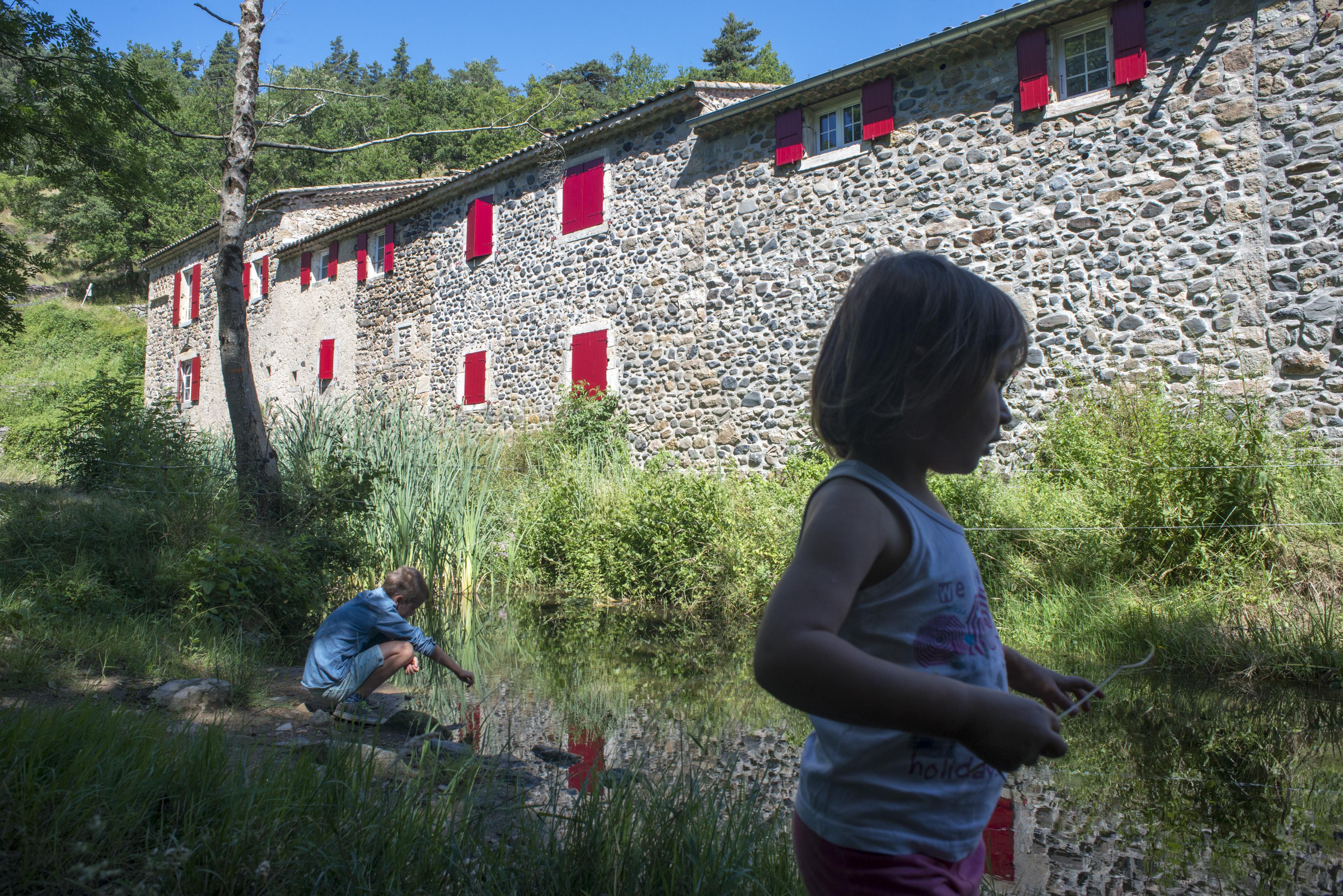 Moulin de Mandy à Pranles