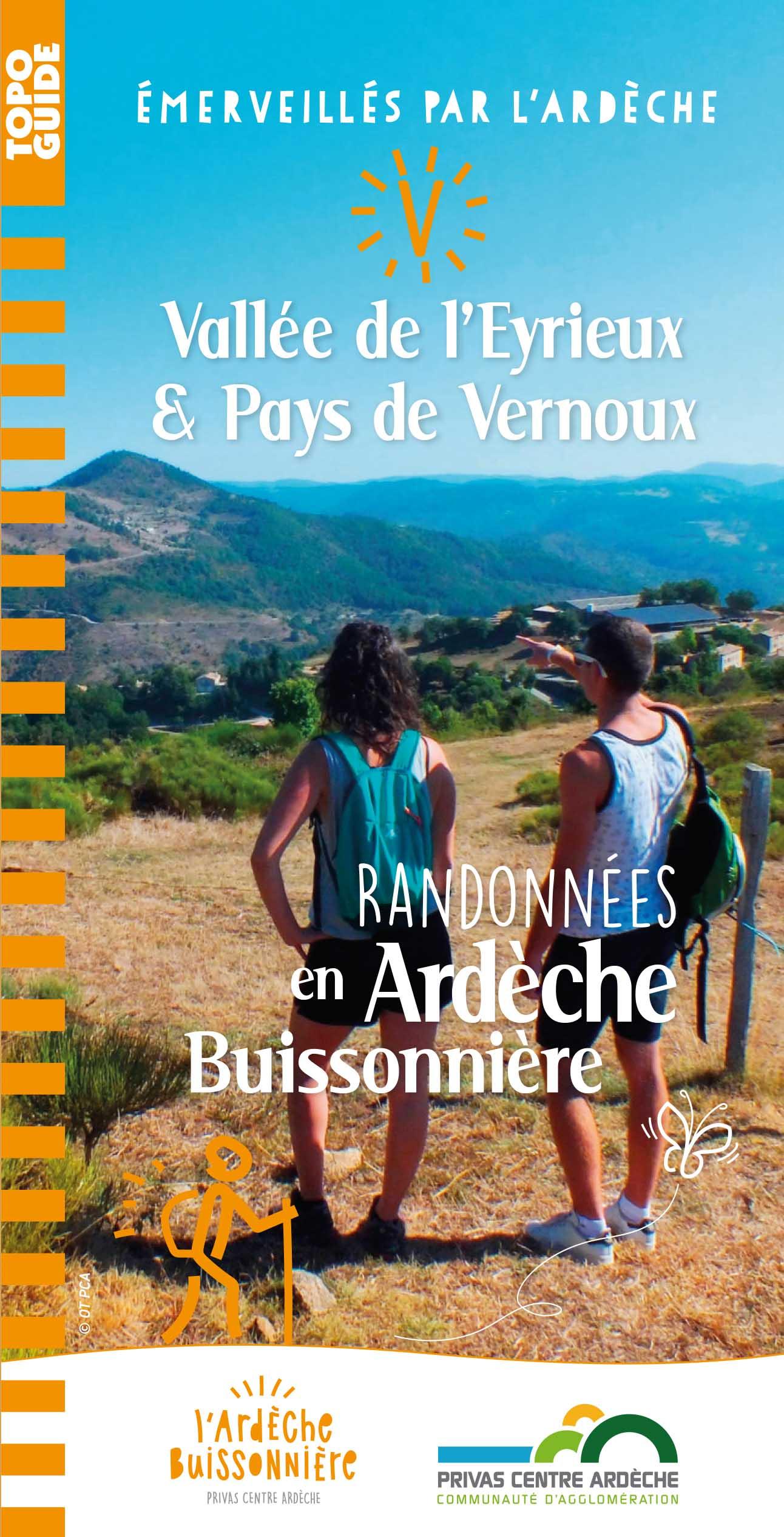 Topoguide des randonnées : Vallée de l'Eyrieux et Pays de Vernoux